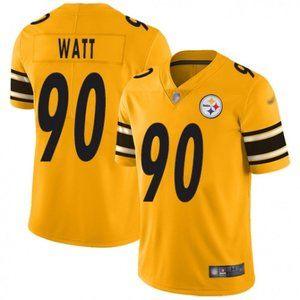 Steelers T. J. Watt Gold Jersey